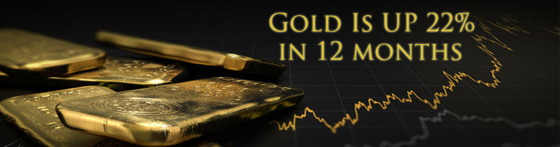 gold is up slider